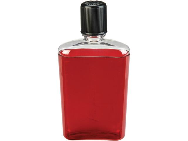 Nalgene PC Hip Flask 300ml, rosso